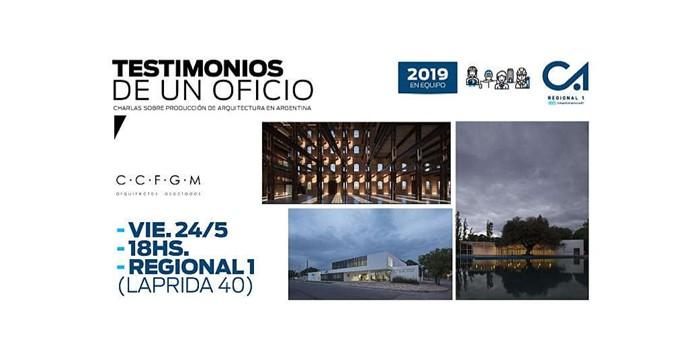 Testimonios de un oficio. Colegio de Arquitectos de Córdoba, Regional 1.