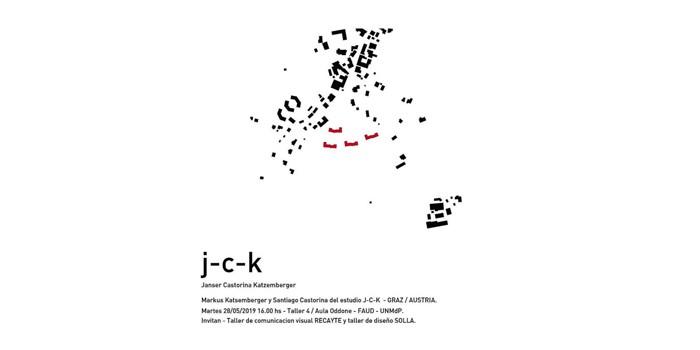 J-C-K en la Universidad Nacional de Mar del Plata.